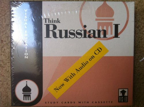 Think Russian I: Visual Education (Study Cards With Cassette) (Russian Edition): Vis-Ed (Visual ...