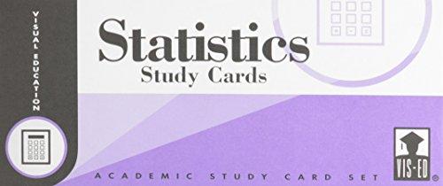 9781556370939: Statistics Study Cards