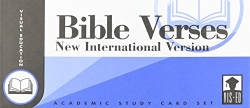9781556371011: New International Version Bible Verses, Vis-Ed Cards