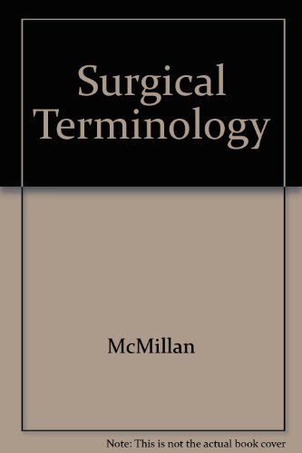 9781556420863: Surgical Terminology