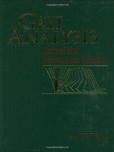 9781556421921: Gait Analysis: Normal and Pathological Function