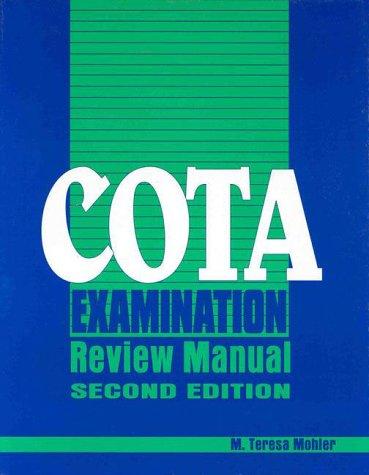 COTA examination review guide - AbeBooks
