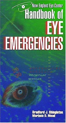 9781556423857: Handbook of Eye Emergencies