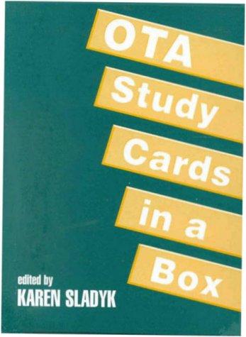 9781556423949: OTA Study Cards in a Box