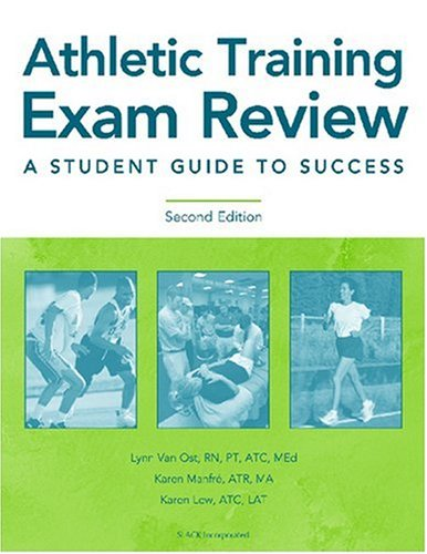 9781556426384: Athletic Training Exam Review: A Student Guide to Success