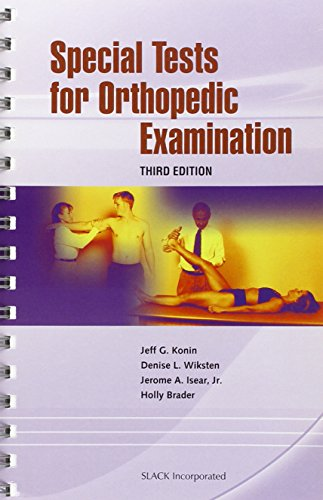 9781556427411: Special Tests for Orthopedic Examination