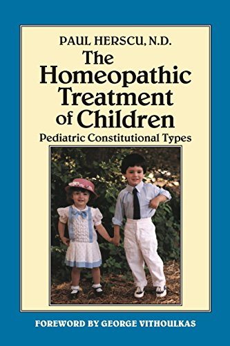 9781556430909: The Homeopathic Treatment of Children: Pediatric Constitutional Types