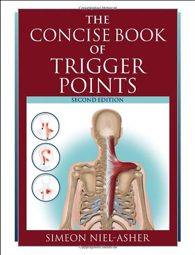 9781556437458: The Concise Book of Trigger Points, Second Edition