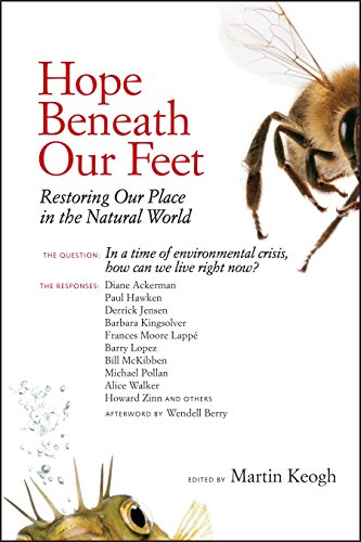 9781556439193: Hope Beneath Our Feet: Restoring Our Place in the Natural World (Io Series)