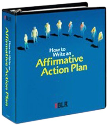 9781556454455: How to Write an Affirmative Action Plan