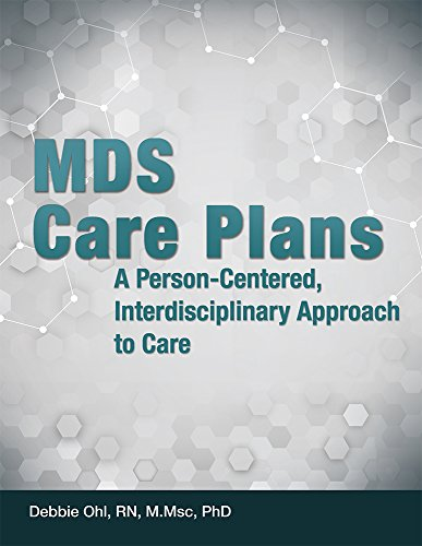 9781556458996: MDS Care Plans: A Person-Centered, Interdisciplinary Approach to Care