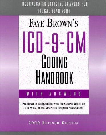 9781556482915: Icd-9-Cm: Coding Handbook, With Answers 2000