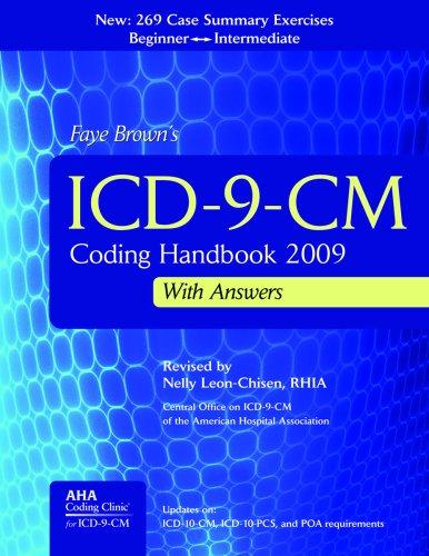 9781556483547: ICD-9-CM Coding Handbook 2009, with Answers (ICD-9-CM Coding Handbook (W/Answers))