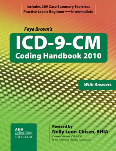 9781556483608: ICD-9-CM Coding Handbook, with Answers, 2010 Revised Edition (ICD-9-CM Coding Handbook (W/Answers))