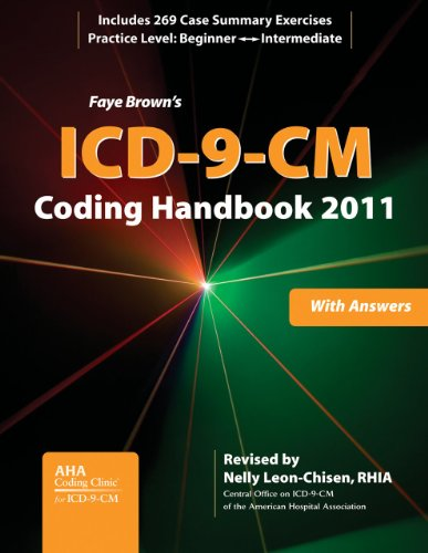 9781556483707: ICD-9-CM Coding Handbook, With Answers, 2011 Revised Edition (ICD-9-CM CODING HANDBOOK WITH ANSWERS (FAYE BROWN'S))