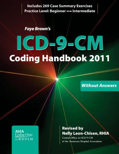 9781556483714: ICD-9-CM Coding Handbook, Without Answers, 2011 Revised Edition (Brown, ICD-9-CM Coding Handbook without Answers)