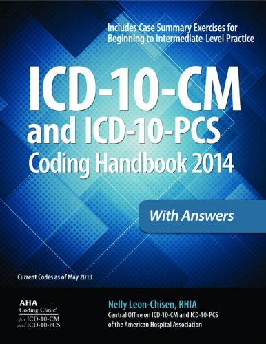 9781556483875: ICD-10-CM and ICD-10-PCS Coding Handbook, 2014 ed., with Answers (ICD-10- CM Coding Handbook W/Answers)