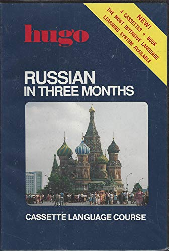 9781556501135: Russian in Three Months