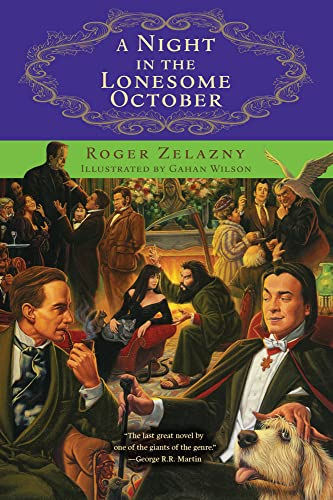 9781556525605: A Night in the Lonesome October (Rediscovered Classics)