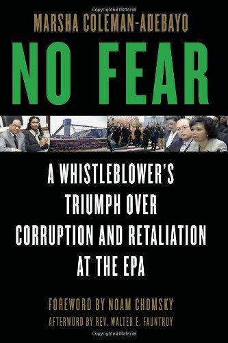 9781556528187: No Fear: A Whistleblower's Triumph Over Corruption and Retaliation at the EPA