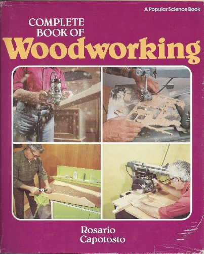 9781556540011: Complete Book of Woodworking