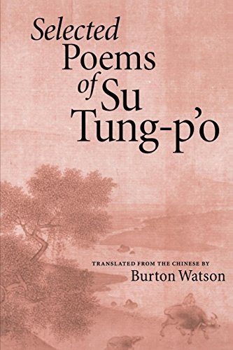 9781556590641: Selected Poems of Su Tung-P'o