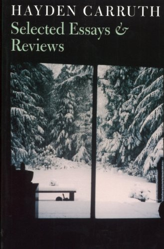 Selected Essays & Reviews
