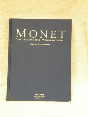 Monet: The Complete Paintings, 1899-1926 (English Edition, Four Volume Set) (1556600151) by Daniel Wildenstein