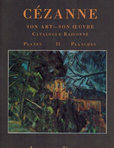Cézanne. Son art, son oeuvre. Catalogue raisonné. 2 vol.: VENTURI (L.)