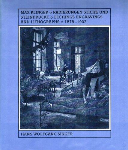 9781556600784: Max Klinger's Graphic Work: Radierungen, Stiche Und Steindrucke