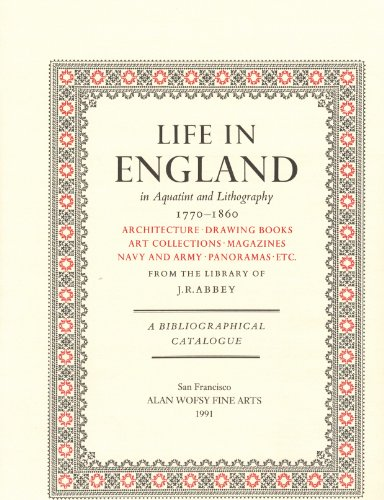 9781556601293: Life in England in Aquatint and Lithography, 1770-1860