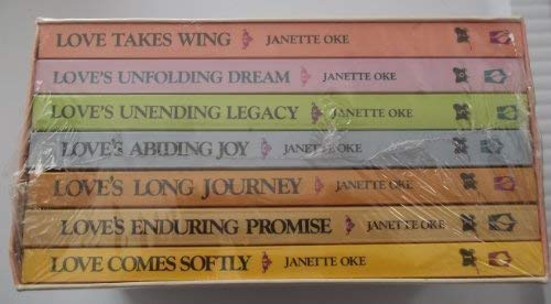 9781556617539: Pioneer Love Stories-Janette Oke-Boxed set of 7 Books