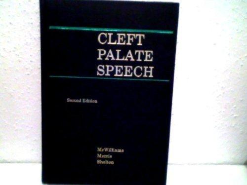 9781556642388: Cleft Palate Speech
