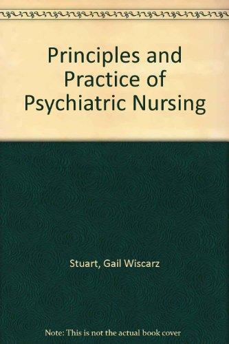 9781556644399: Stuart & Sundeen's Principles & Practice of Psychiatric Nursing