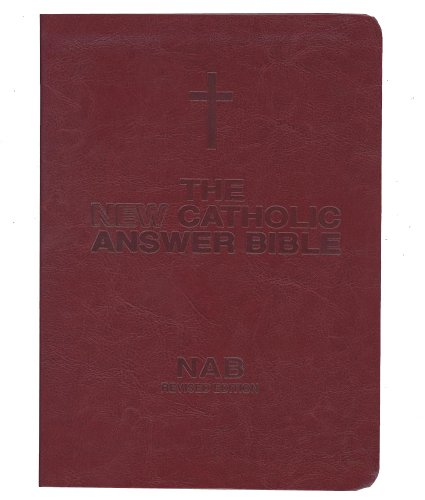 9781556654107: New Catholic Answer Bible-NABRE-Librosario (Burgundy)