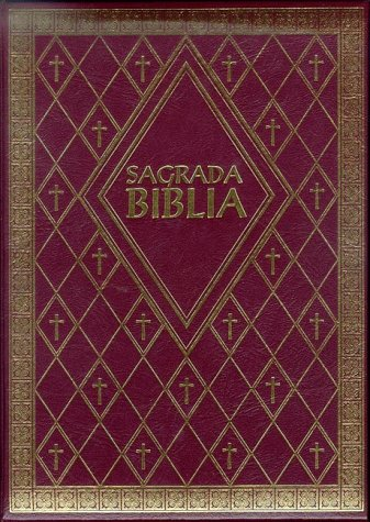 9781556657252: Sagrada Biblia: Latinoamericana Familiar Burgundy Padded Gold-Gilded Pages Edges