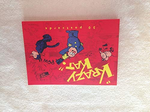Krazy Kat Postcard Book: 30 Postcards: Illustrator-George Herriman
