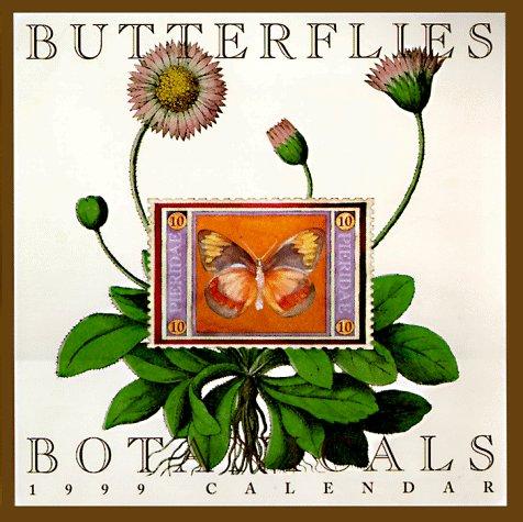 9781556708152: Cal 99 Butterflies and Botanicals Calendar