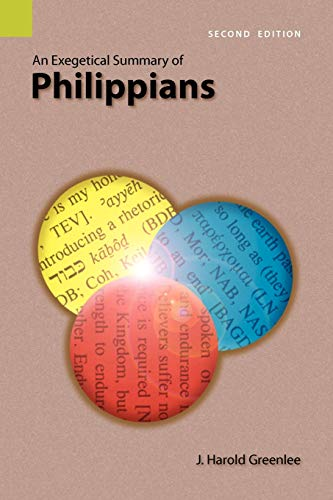 9781556711992: An Exegetical Summary of Philippians, Second edition