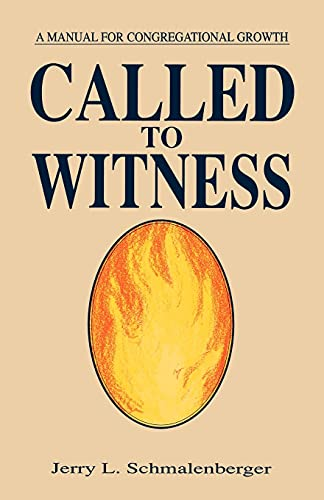 9781556735585: Called To Witness