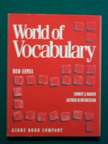 9781556753688: World of Vocabulary Red Level