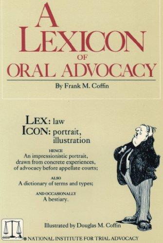 A Lexicon of Oral Advocacy