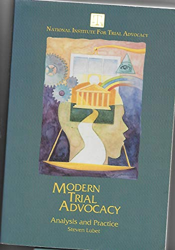 9781556812668: Modern Trial Advocacy: Analysis and Practice