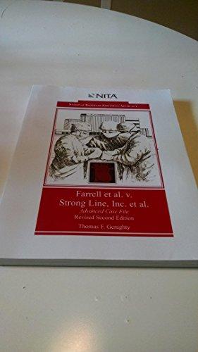9781556814198: Farrell et al. vs. Strong Line, Inc. et al : Negligence, Wrongful Death