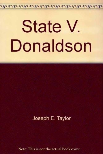9781556815058: State V. Donaldson