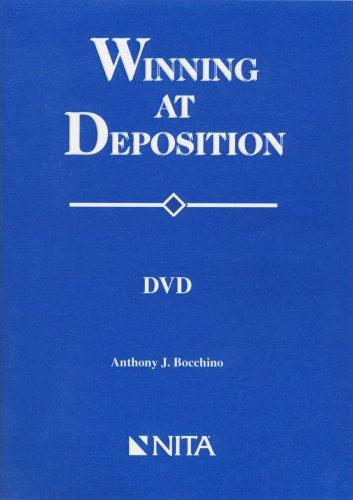 9781556815225: Winning At Deposition CD-Rom