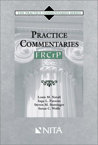 9781556817625: Practice Commentaries -- FRCrP (The Practice Commentaries Series)