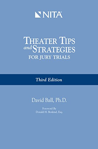 9781556817793: Theater Tips and Strategies for Jury Trials