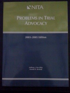 9781556818318: Problems in Trial Advocacy