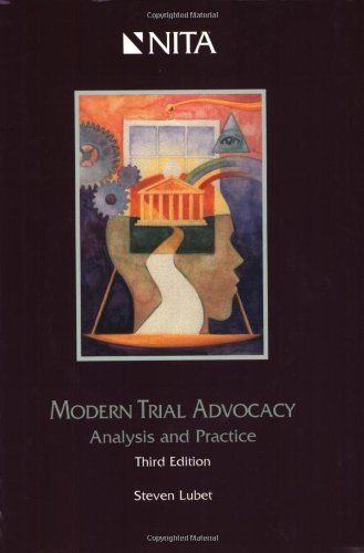 9781556818868: Modern Trial Advocacy: Analysis and Practice